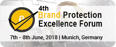 Brand Protection Excellence Forum 2018 Munich Germany