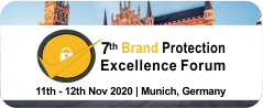7th Brand Protection Excellence Forum BPEF  (2020)