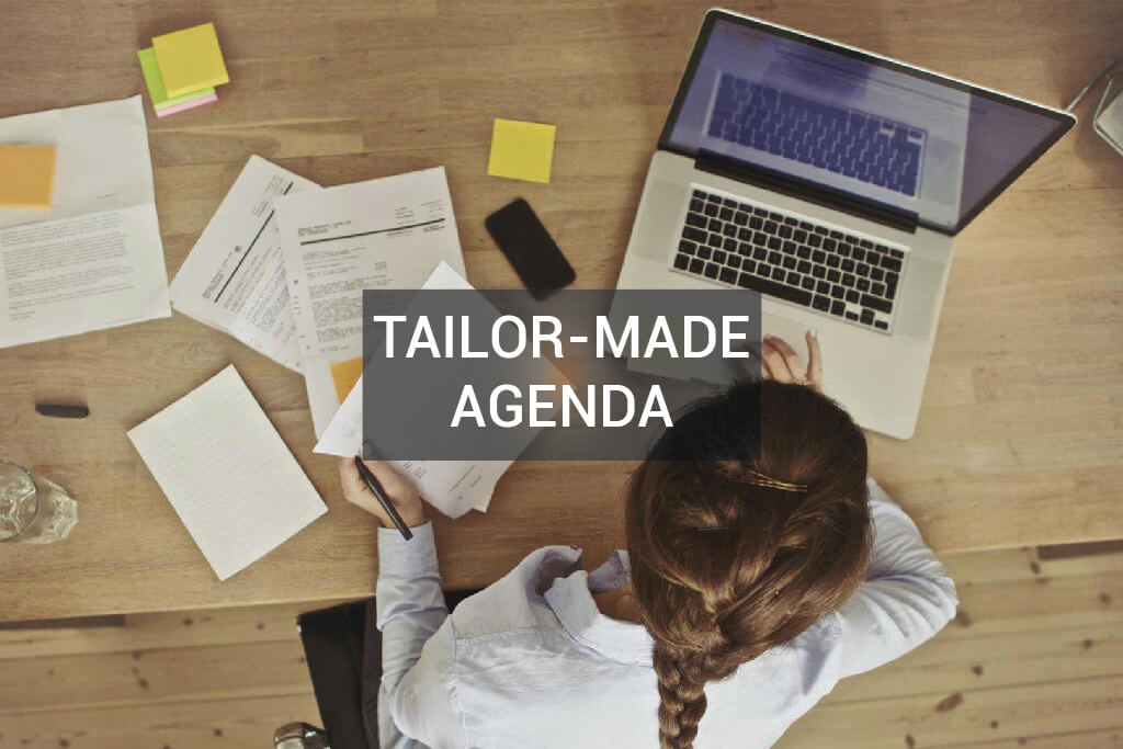 brainlinx tailar-made agenda